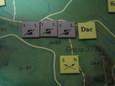 ローマ軍団の波状攻撃(第4ターン)