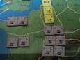 ローマ軍団の追撃(第9ターン)