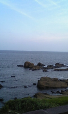 海!(モブログ)
